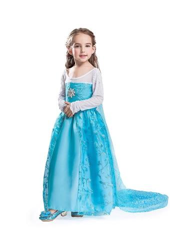 ELSA & ANNA© MÑdchen Prinzessin Kleid VerrÅcktes Kleid Partei KostÅm Outfit DE-DRESS302-SEP (3-4 years, DE-SEP302)