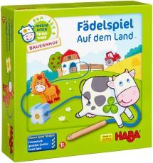 Haba 5580 Meine erste Spielwelt Bauernhof FÑdelspiel auf dem Land