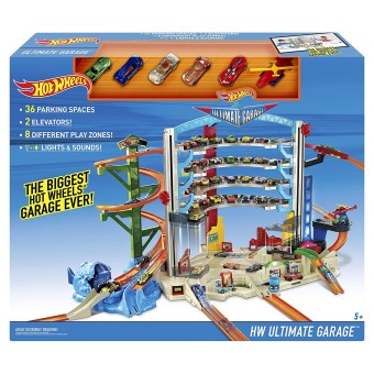 Mattel Hot Wheels CMP80 - Megacity Parkgarage