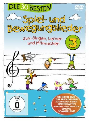 DVD - Die 30 besten Spiel- und Bewegungslieder Vol.3