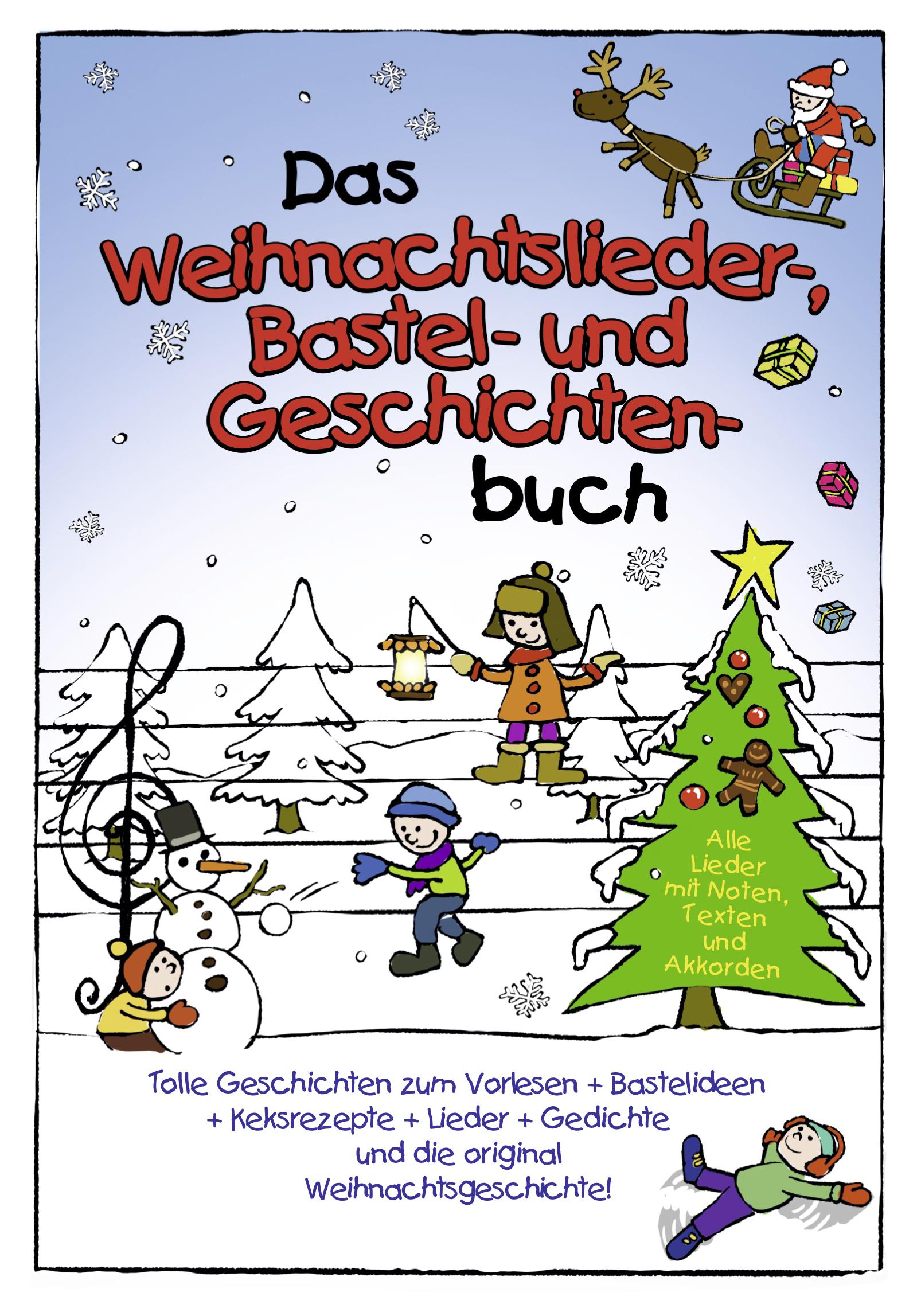 Lamp und Leute » Das Weihnachtslieder- Bastel- und Geschichten-Buch