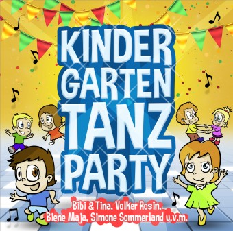 Kindergarten Tanzparty (MP3 Bundle)