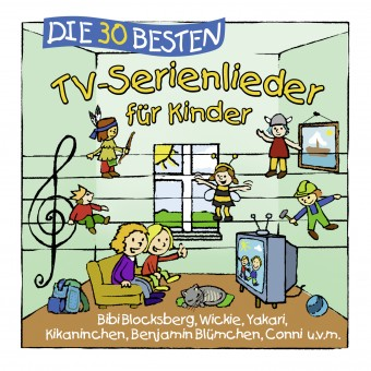 Die 30 besten TV-Serienlieder für Kinder (MP3 Bundle)