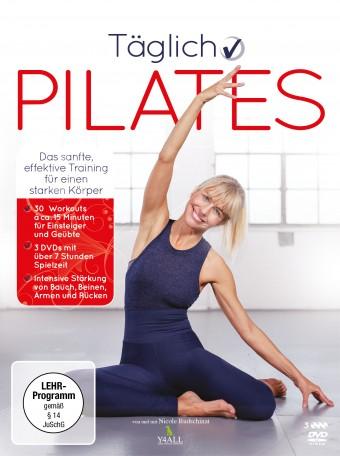 3 DVDs - Täglich Pilates