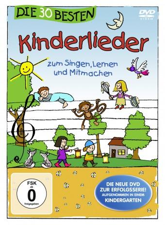 DVD – Die 30 besten Kinderlieder zum Singen, Tanzen und Mitmachen