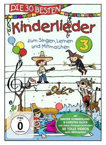 Die 30 besten Kinderlieder 3 - Die DVD - zum Singen, Lernen und Mitmachen
