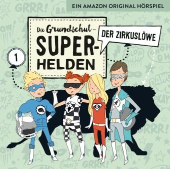 Die Grundschul-Superhelden Folge 1: Der Zirkuslöwe (MP3 Bundle)