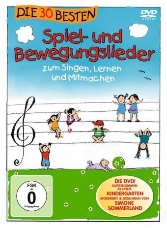 DVD - Die 30 besten Spiel- und Bewegungslieder Vol.1