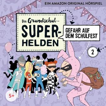 Die Grundschul-Superhelden Folge 2: Gefahr auf dem Schulfest (MP3 Bundle)