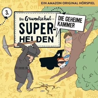 Die Grundschul-Superhelden Folge 3: Die geheime Kammer (MP3 Bundle)