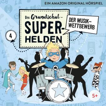 Die Grundschul-Superhelden Folge 4: Der Musikwettbewerb (MP3 Bundle)