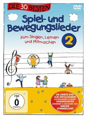 DVD - Die 30 besten Spiel- und Bewegungslieder Vol.2