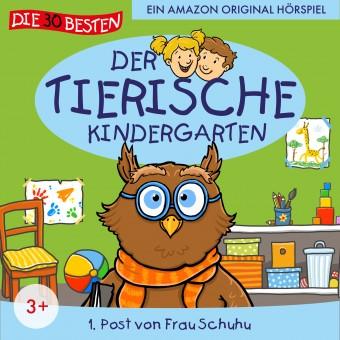 Der tierische Kindergarten Folge 1: Post von Frau Schuhu (MP3 Bundle)