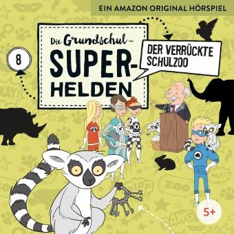Die Grundschul-Superhelden Folge 8: Der verrückte Schulzoo (MP3 Bundle)