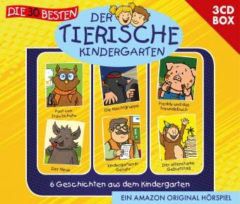 Der Tierische Kindergarten 3-CD-Box Vol.1 - 6 Folgen