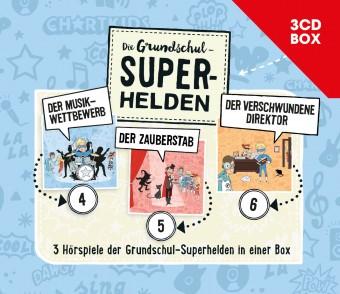 Die Grundschul-Superhelden 3CD-Box (Folge 4-6)