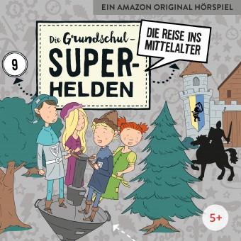 Die Grundschul-Superhelden Folge 9: Die Reise ins Mittelalter (MP3 Bundle)