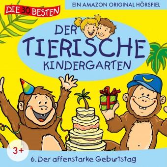 Der tierische Kindergarten Folge 6: Der affenstarke Geburtstag (MP3 Bundle)