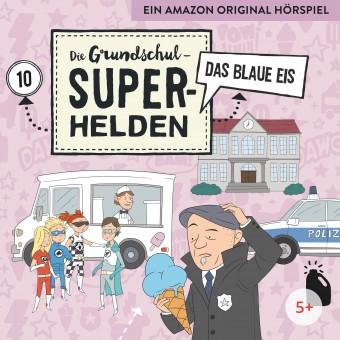 Die Grundschul-Superhelden Folge 10: Das blaue Eis (MP3 Bundle)