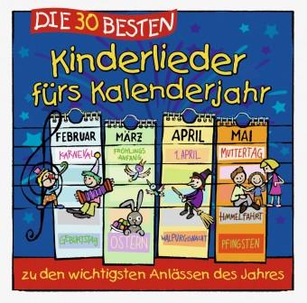 Die 30 besten Kinderlieder fürs Kalenderjahr (MP3 Bundle)