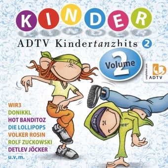 ADTV Kindertanzhits Vol. 2 (MP3 Bundle)