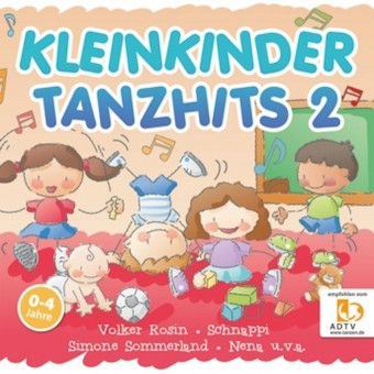 Kleinkinder Tanzhits 2 (MP3 Bundle)