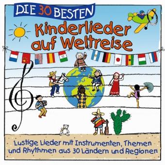 Die 30 besten Kinderlieder auf Weltreise (MP3 Bundle)