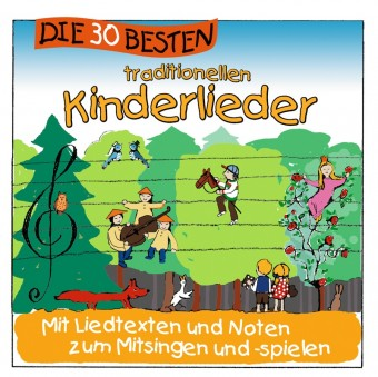 Die 30 besten traditionellen Kinderlieder (MP3 Bundle)