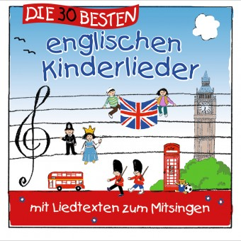 Die 30 besten englischen Kinderlieder (MP3 Bundle)