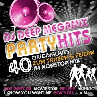 DJ DEEP Megamix Partyhits (MP3 Bundle)
