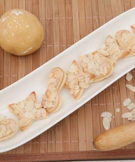 Marzipan-knusperplätzchen