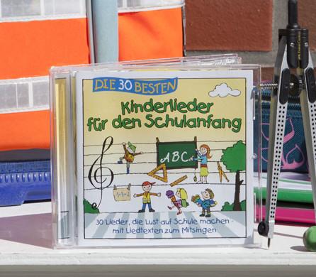 30 Lieder für einen tollen Start in die Schulzeit