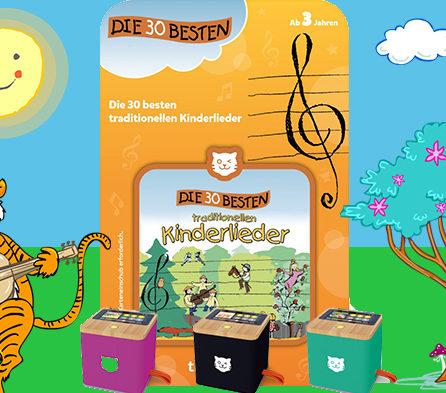 Traditionelle Kinderlieder jetzt auch auf der Tigerbox