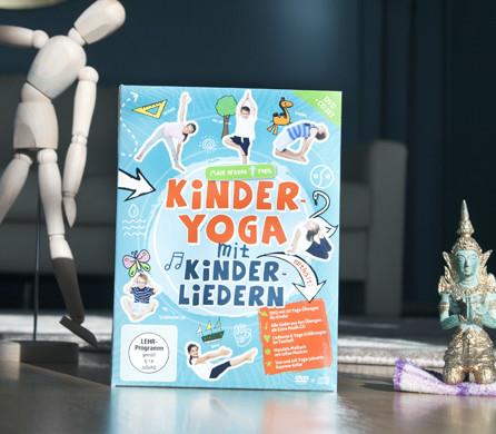 Mein erstes Yoga – Kinderyoga mit Kinderliedern!