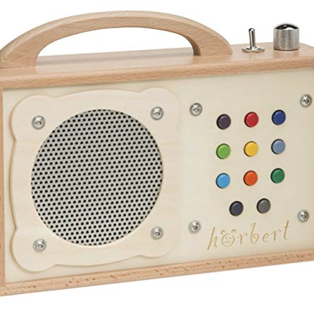 Hörbert – MP3-Player aus Holz Made in Germany