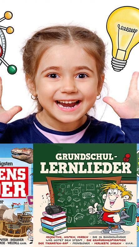 Lern- und Wissenslieder erobern die Kinderzimmer